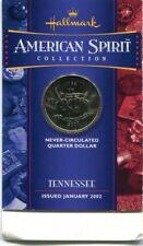 HALLMARK AMERICAN SPIRIT COLLECTION  2002D TENNESSEE Uncirculated Quarter!!