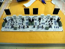 2 X ASSEMBLED 50W AUDIO POWER AMPLIFIER KIT BASED ON NVA AP30