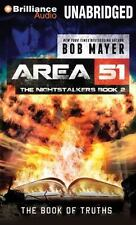Area 51 the Nightstalkers: The Book of Truths 2 by Bob Mayer (2013, CD)