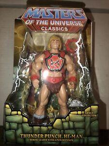 Masters of the Universe Classics THUNDER PUNCH HE-MAN New MOTUC Four Horsemen