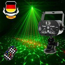 60 Muster Lichteffekt RGB LED Laser DJ Projektor Disco Party Bühnenbeleuchtung