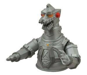 "Godzilla Mechagodzilla 8"" Vinyl Bust Bank"