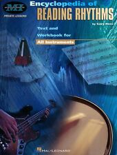 Encyclopedia of Reading Rhythms Text and Workbook for All Instruments 000695145
