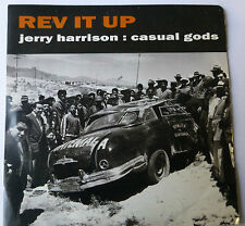 "JERRY HARRISON (ex Talking Heads)- Rev It Up, 1988 7"" Vinyl Single, Car Sleeve."