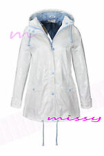 Ladies WATERPROOF COAT Festival Rain Mac coat Womens Jacket Size 8 10 12 14 16 n