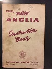 New Ford Anglia 'Instruction Book' Care & MaIntenance Manual 1956, Ref A856/556