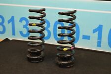12-15 W204 MERCEDES C350 C300 C250 COUPE REAR LEFT & RIGHT COIL SPRINGS PAIR