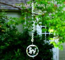 Crystal Green Dragon Suncatcher Car Charm + Swarovski Beads Lilli Heart Designs