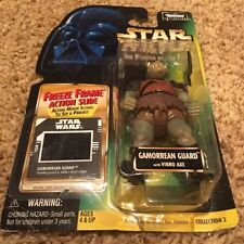Kenner 1997 Star Wars Power of the Force GAMORREAN GUARD w/ Vibro Axe