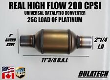 High Flow Diesel Universal Catalytic Converter 4 Body 214 Id With 25g Load