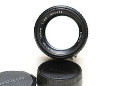 Nikon Nikkor 105mm f/2.5 Ai-s, manual focus telephoto lens