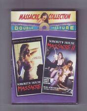 (DVD) Sorority House Massacre + Sorority House Massacre II / NEW