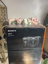 Sony Alpha a7C mirrorless fotocamera digitale con obiettivo 28-60mm (Nero) ILCE 7CL/B