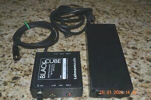 Lehmann Audio Black Cube MM / MC Phono Preamplifier & Power Supply For 120V