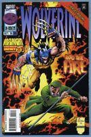 Wolverine #105 1996 Onslaught [Stick Appearance] Larry Hama Val Semeiks -m