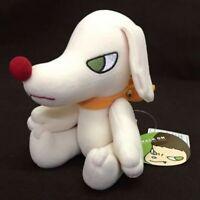 Yoshitomo Nara White Dog Plush Doll Stuffed Japan Limited Free Shipping Rare JP