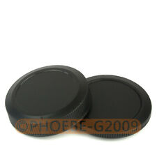 DSLRKIT Rear Lens+body Cover cap for For Canon EOS RF Mount for Canon R