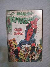 The Amazing SpiderMan #68 Wood Wall Mounted Marvel Comic Print Poster Art Plaque