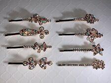 Gems hair clip, hair accessories, hair pins, bobby pins, hair jewelry