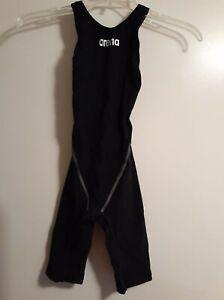 Arena Women's Powerskin St 2.0 Full Body Short Leg Swimsuit, Black, Size 22