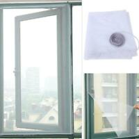 Magnetic Window Mesh Net Door Curtain Prevent Mosquito Fly Bug Insect Screen DIY