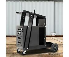 Giantz Welding Cart Trolley 4Drawers Welder Storage Bench MIG TIG ARC MMA Plasma
