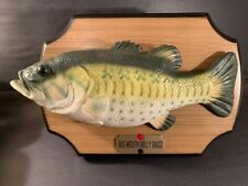 New listing Big Mouth Billy Bass 1999 Singing Fish Take Me To The River Don't Worry Be Happy