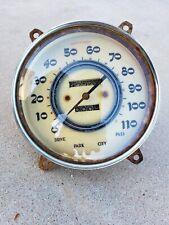 1937 Cadillac LaSalle Car Dash Speedometer Round Gauge Assembly Caddy Speedo