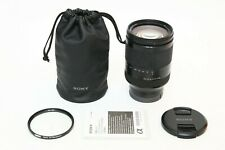 Sony Fe 24-240mm f/3.5-6.3 Oss Lens Excellent Digital Camera +Bonus 72mm Filter