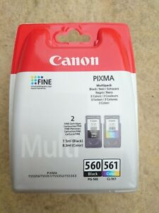 Genuine Canon 560 / 561 Ink Pack New & Sealed For Pixma TS5350