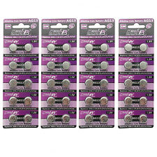 40 pcs AG13 GP76 357A SR44SW RW42 1.5V Alkaline Button Cell Battery HyperPS