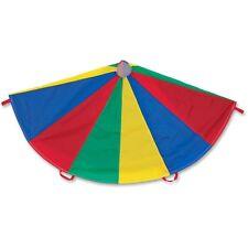 Champion Sports Nylon Multicolor Parachute, 12-ft. diameter, 12 Handles, EA - CS
