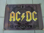 AC/DC BLACK ICE RARE ORIGINAL SHOP DISPLAY POSTER!
