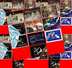 🚀 ANTIGUA 1990/2000's ASTRONOMY/SPACE x50 S/S MNH $ wholesale $ 🚀
