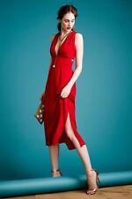 Anthropologie Silk Cut Out Dress by Myne-6