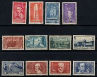 PP135347/ FRANCE STAMPS – YEARS 1935 - 1938 MNG SEMI MODERN LOT – CV 195 $
