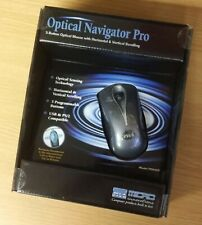 Optical Navigator Pro (PD945P) 5 Button Optical Mouse USB w/ PS/2 Adapter - New