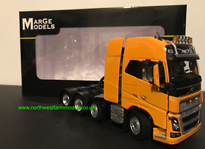 MARGE MODELS 1:32 SCALE VOLVO FH16 8X4 YELLOW