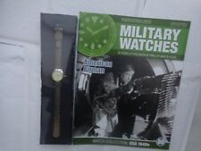 Eaglemoss Military Watches-AMERICANO AIRMAN anni 1940 USA WW2 Orologio Issue 80 USATO