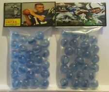 2 Bags Of Johnny Unitas Football Great Promo Marbles