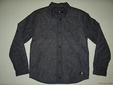 NEW DC SHOES MENS MUNICH SNAP UP POLYESTER QUILTED RESISTANT COAT JACKET MEDIUM