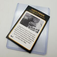 More details for sas special air service rusty firmin signed collectors card operation nimrod