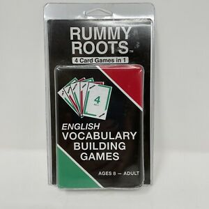 Rummy Roots Cards English Vocabulary Building Games