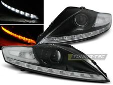 LED HEADLIGHTS LPFO55 FORD MONDEO MK-4 2007 2008 2009 2010 BLACK LED INDICATOR