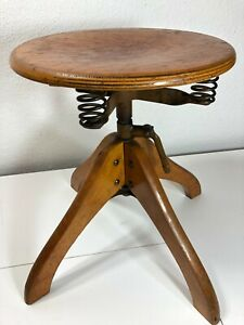 Industrial Margarete Klöber POLSTERGLEICH Bauhaus Architects Swivel Stool Chair