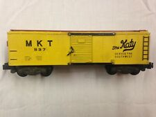 AC Gilbert American Flyer 1953-58 MKT Boxcar, yellow and tuscan 937