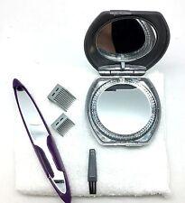 Bikini Touch Hair Vanity 5X Light Mirror Shaving Towel Replacement Kit Eyebrow
