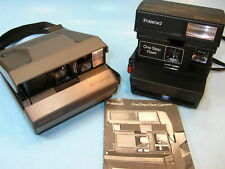 2 POLAROID  CAMERAS ..... SPECTRA SYSTEM & ONE STEP FLASH