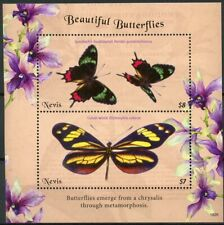 Nevis 2018 MNH Beautiful Butterflies Swallowtail Mimic 2v S/S Butterfly Stamps