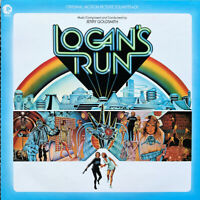 Logan's Run - Original Score - Black Vinyl - Limited Edition - Jerry Goldsmith
